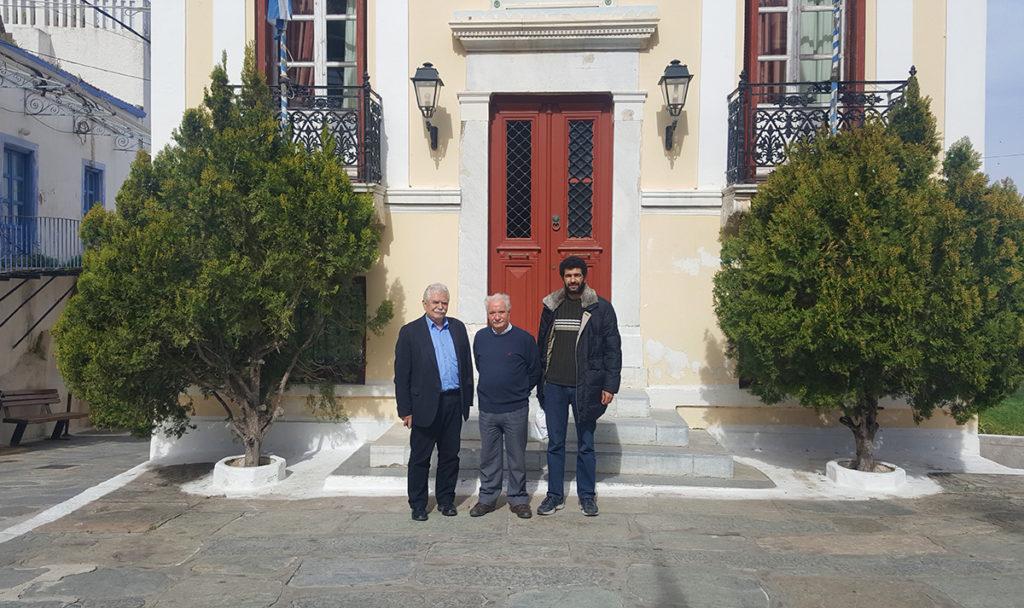 Επίσκεψη εκπροσώπων του ΚΚΕ στην Κέα