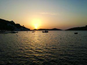 Ηλιοβασίλεμα στο Βουρκάρι