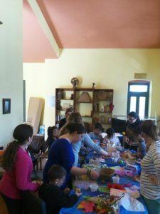 πασχαλινές δημιουργίες στο Κέντρο Κοινότητας