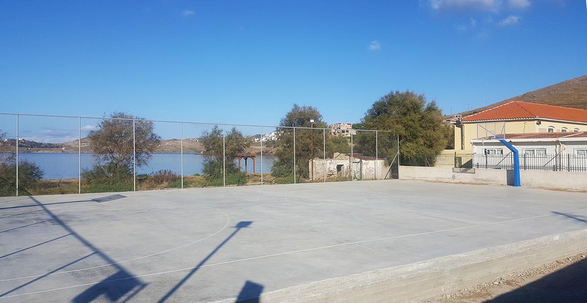 Γήπεδο Μπάσκετ Κορησσίας