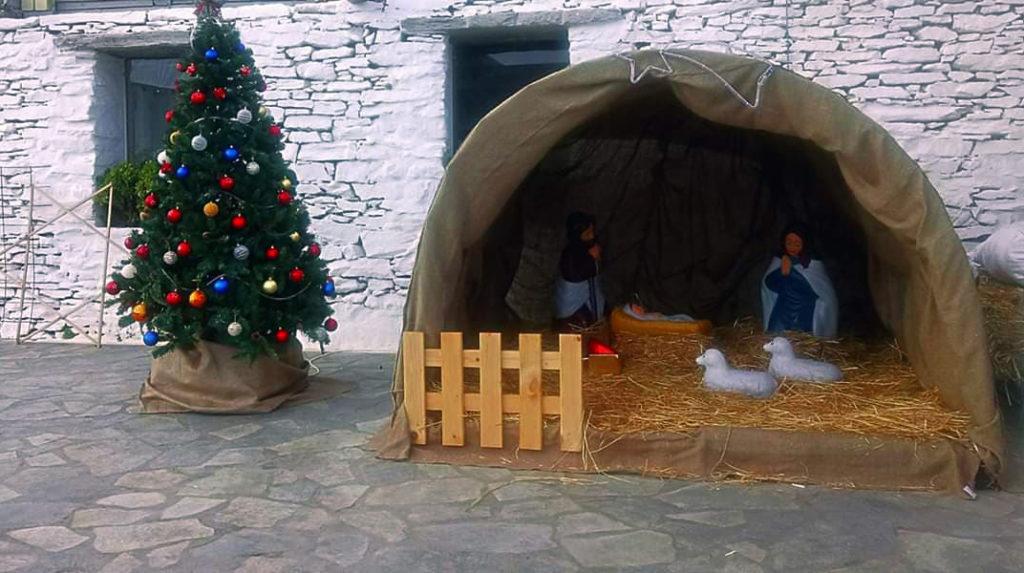 Στολισμός Φάτνης και Χριστουγεννιάτικου Δέντρου στην Κορησσία