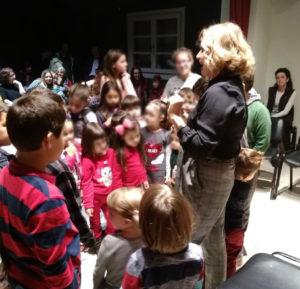 Τα παιδιά της Κέας συμμετείχαν σε εκδήλωση για την ανακύκλωση