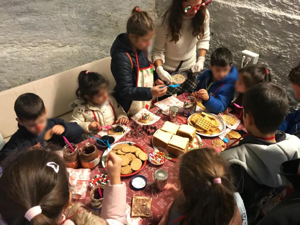 Πολλές γιορτινές στιγμές για τα παιδιά της Κέας