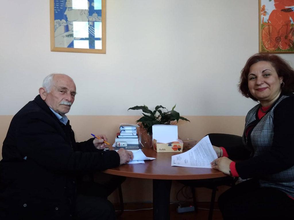 Υπογραφή σύμβασης για την ολοκλήρωση του Γηπέδου Μπάσκετ Κορησσίας