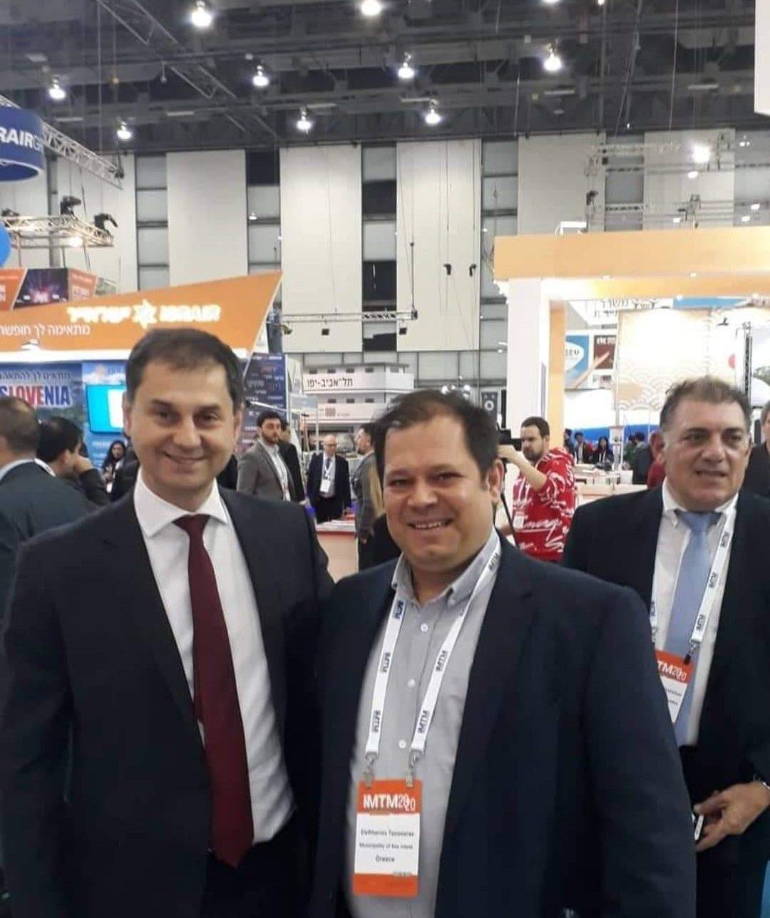 Με τον Υπουργό Τουρισμού, κ. Χάρη Θεοχάρη