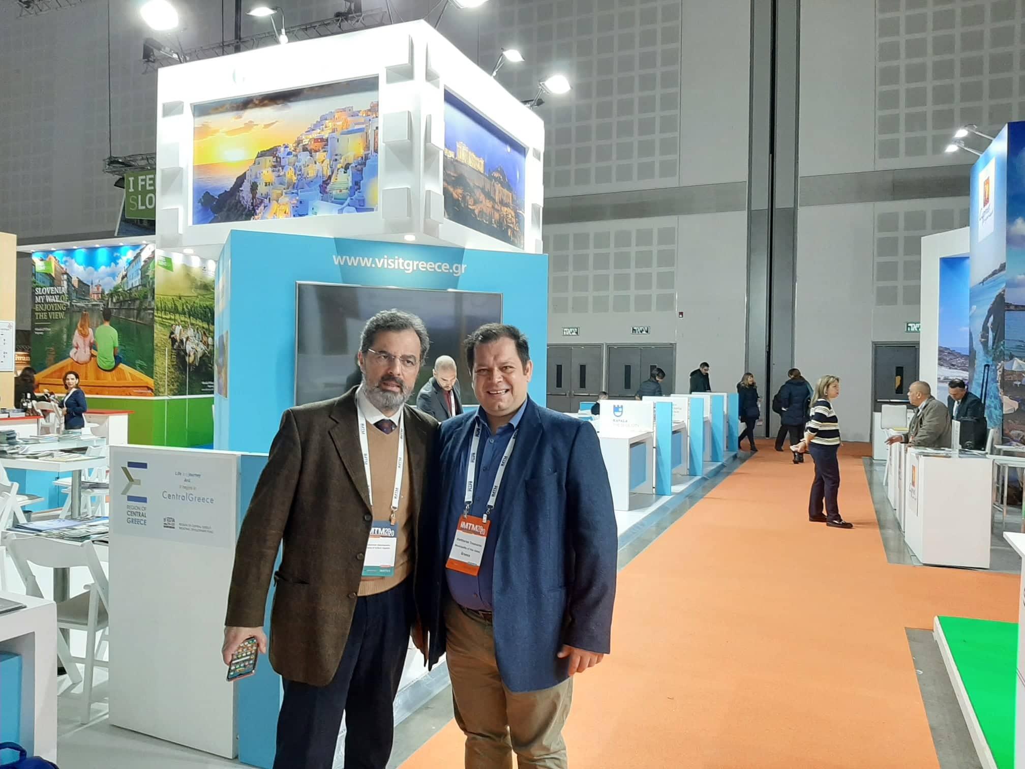 Με τον Διπλωμάτη, κ. Κωσταντίνο Δασκαλόπουλο
