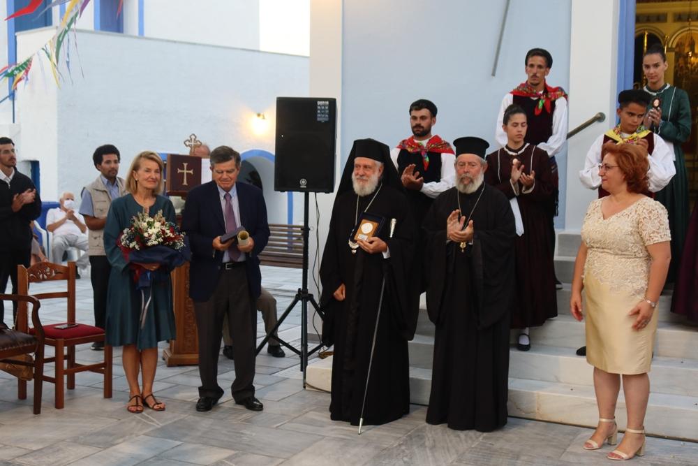 Τελετή αναγόρευσης κ. Αθανάσιου Μαρτίνου ως επίτιμου Δημότη Κέας