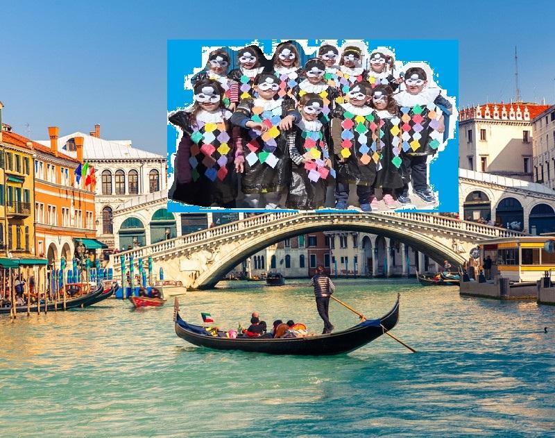 Νηπιαγωγείο Ιουλίδας - Με τη φαντασία μας φτάσαμε μέχρι τη Βενετία και ντυθήκαμε Αρλεκίνοι