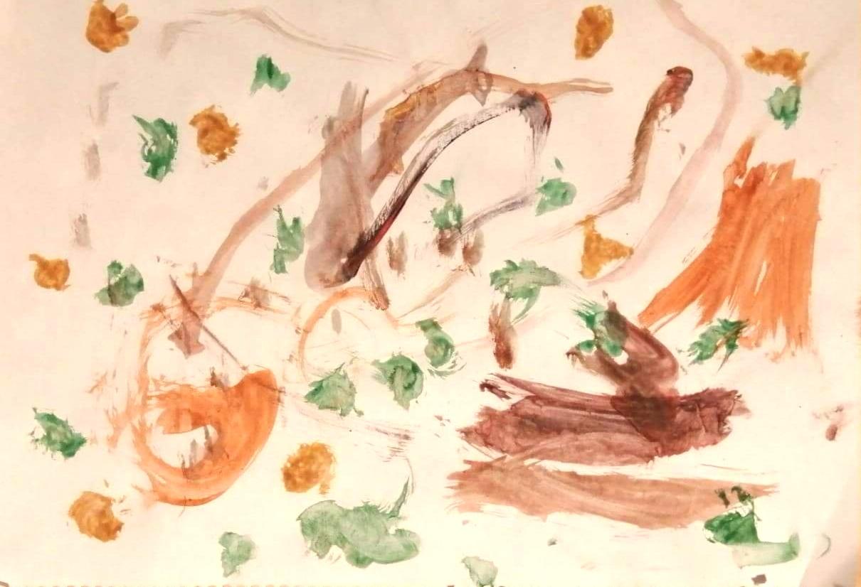 Χαρτοπόλεμος από τη Σοφία - Ειρήνη Τζουβάρα, 2.5 ετών