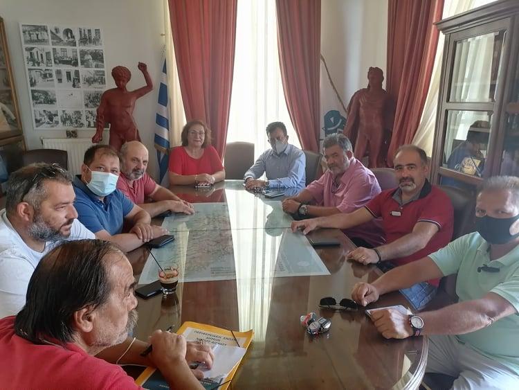 Επίσκεψη Βουλευτή Κυκλάδων κ. Βρούτση στο Δήμο Κέας